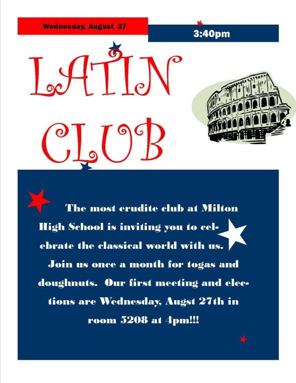 Latin Club Kickoff