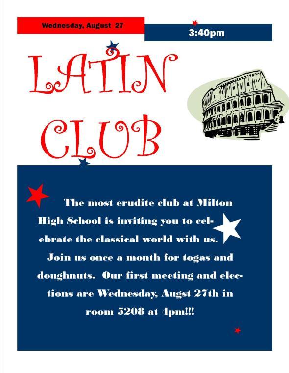 Latin Club Kickoff