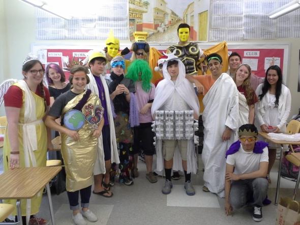 Latin III costumes 13