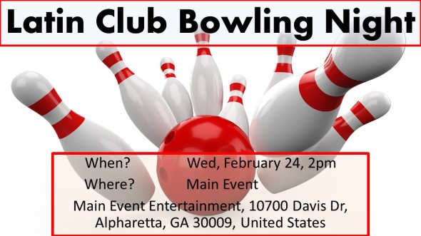 Latin Club Bowling Night
